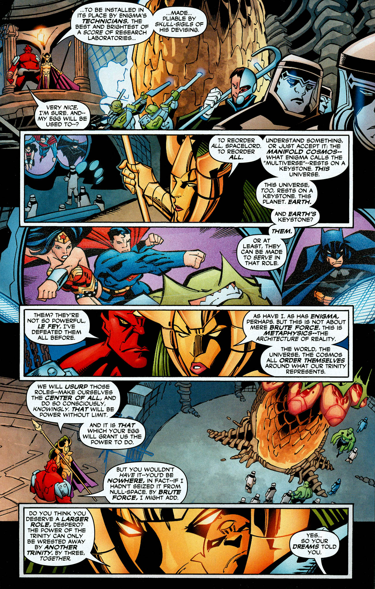Read online Trinity (2008) comic -  Issue #8 - 22