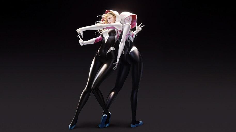 Spider-Gwen, 4K, #4.239
