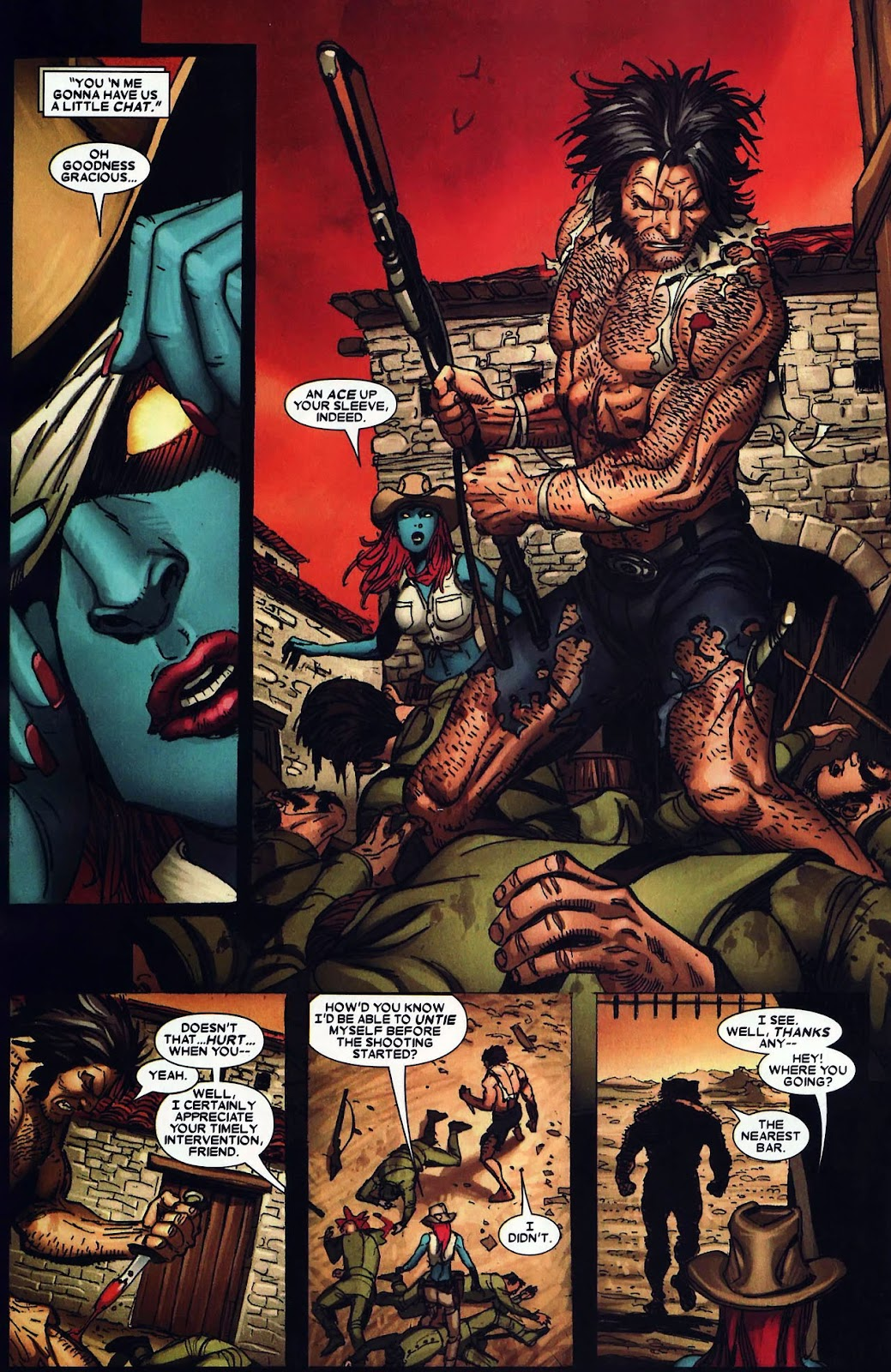 Read online Wolverine (2003) comic -  Issue #62 - 19
