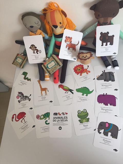 tarjetas para juegos de niños