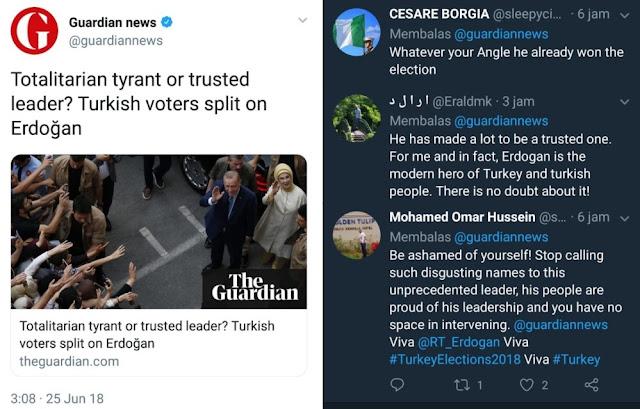 Erdogan Yang Menang, Media Barat Yang Uring-uringan, Akhirnya Ketampol