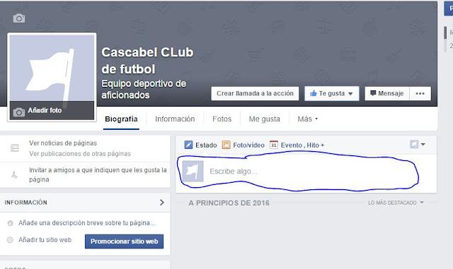 Como crear una pagina de facebook paso a paso