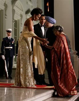 LifestyleFashions Michelle Obama Naeem Khan Dress