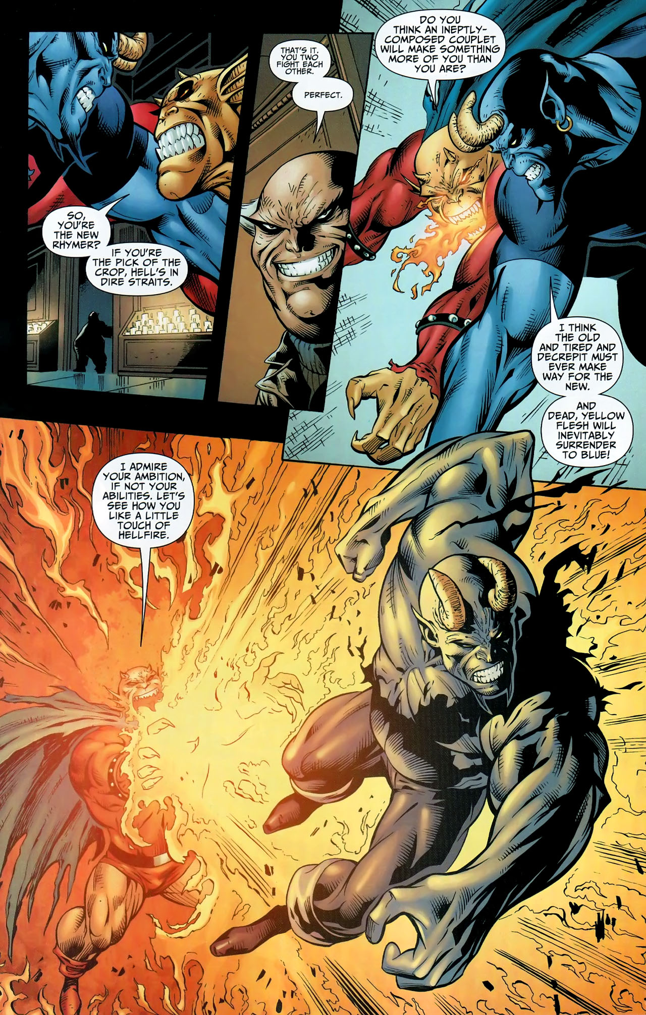 Read online Shadowpact comic -  Issue #9 - 18