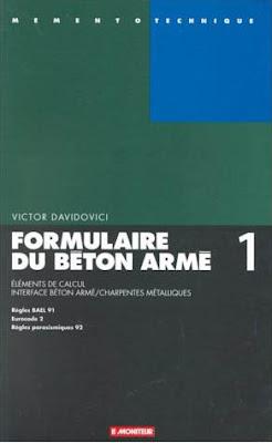 Formulaire du Béton Armé - Tome 1, Calculs :