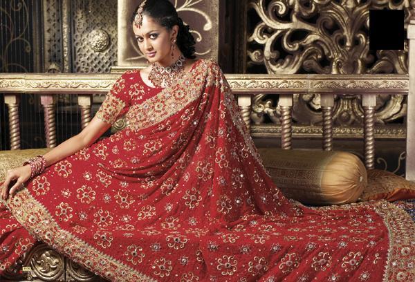 Wedding Dresses Gallery: Bridal Indian Sari