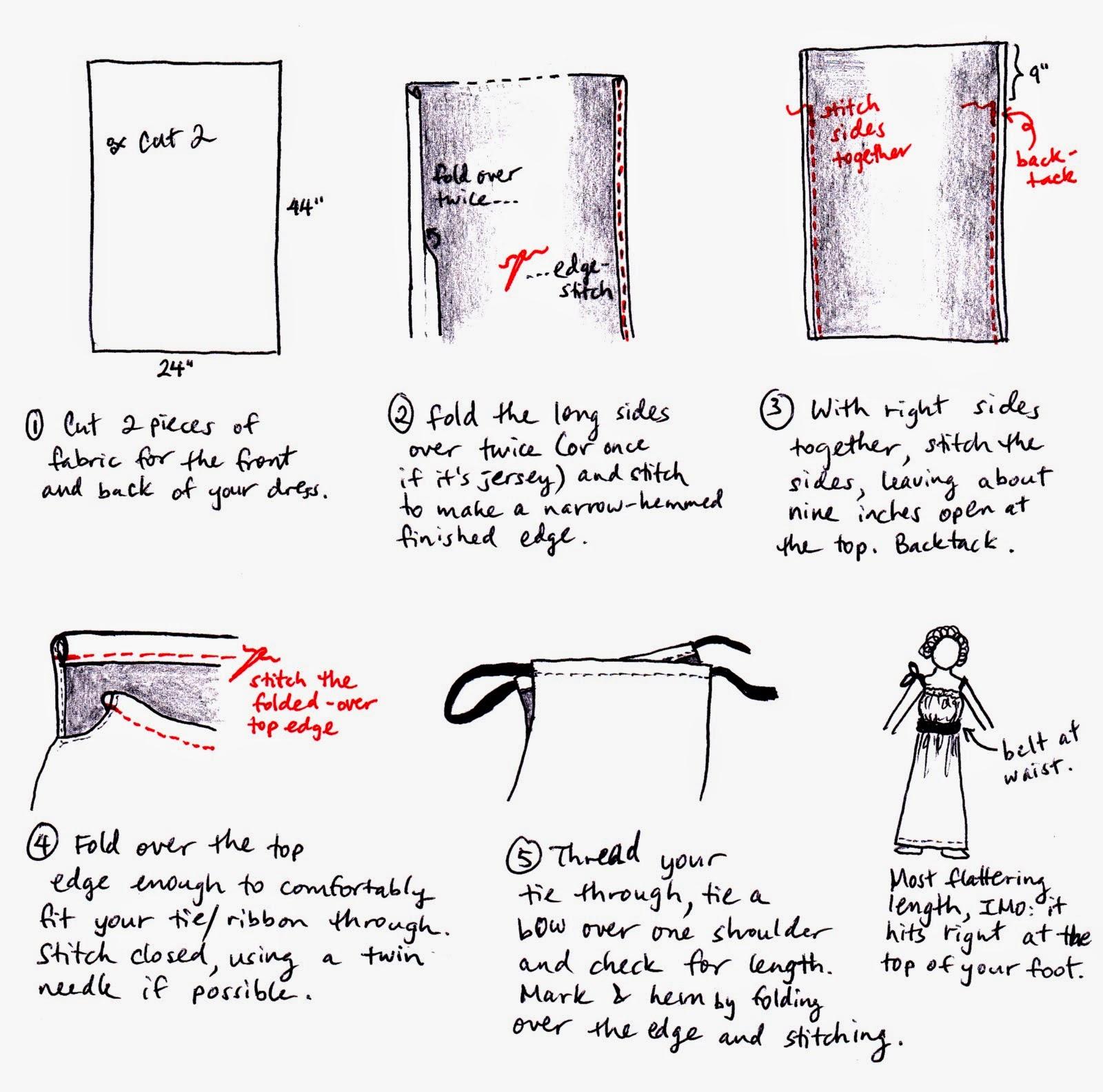 Cómo hacer un vestido de verano muy fácil, de Burda