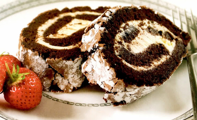 Recipe Method For Double Chocolate Roulade