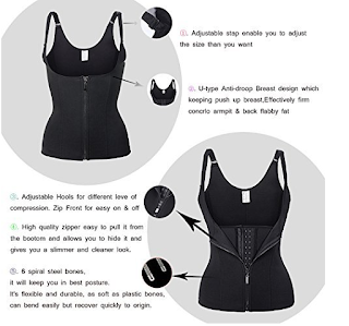 Descriptions of Kiwi Rata Neoprene sauna vest