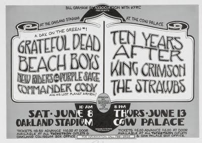 Image result for Bill Graham Day on the Green 1976 Beach Boys