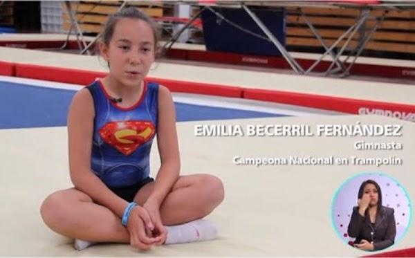 CONADE la abandona, pero Emilia no cesa en su sueño de representar a México en Bulgaria.