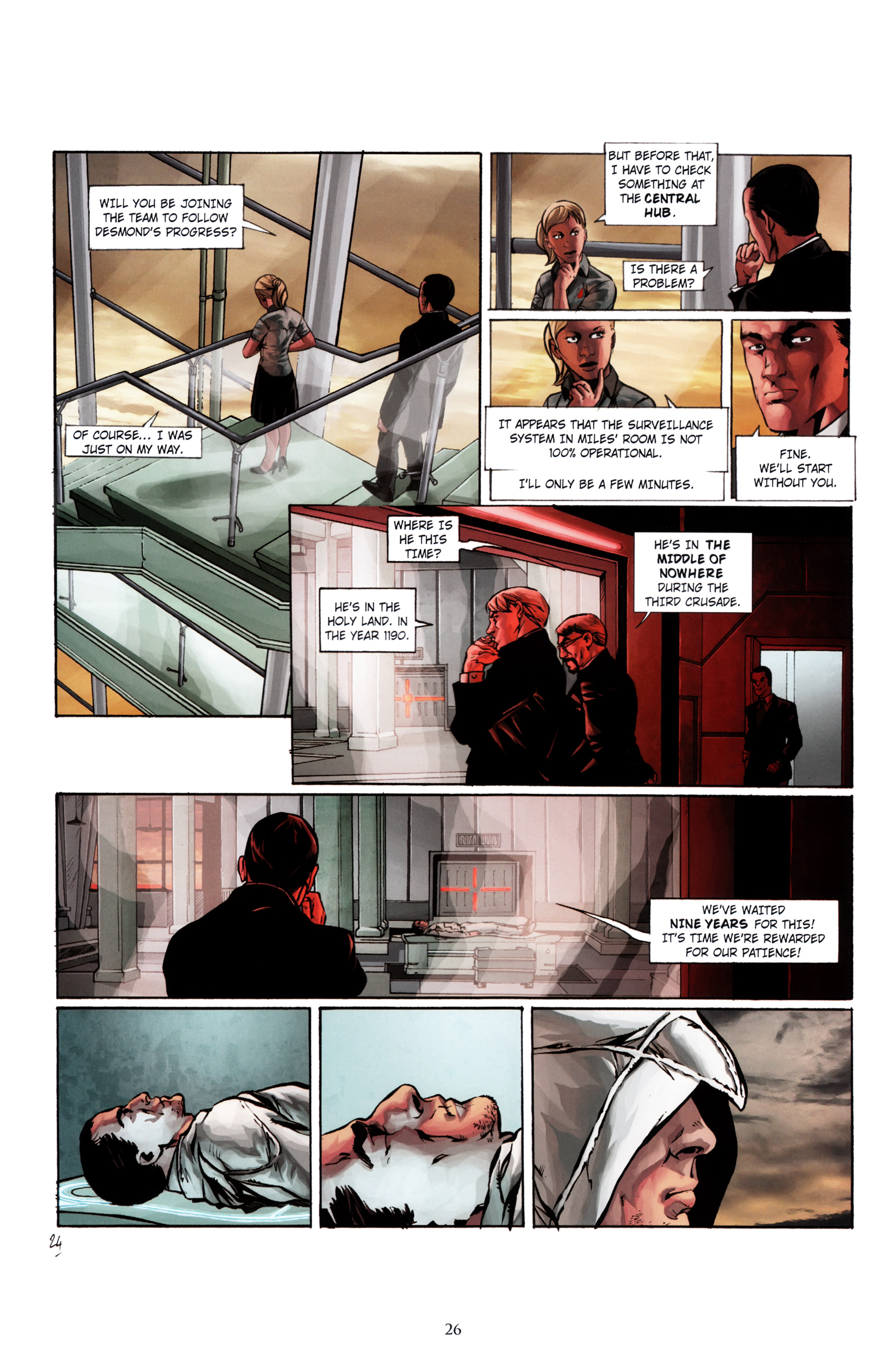 Read online Assassin's Creed (2012) comic -  Issue #1 - 30