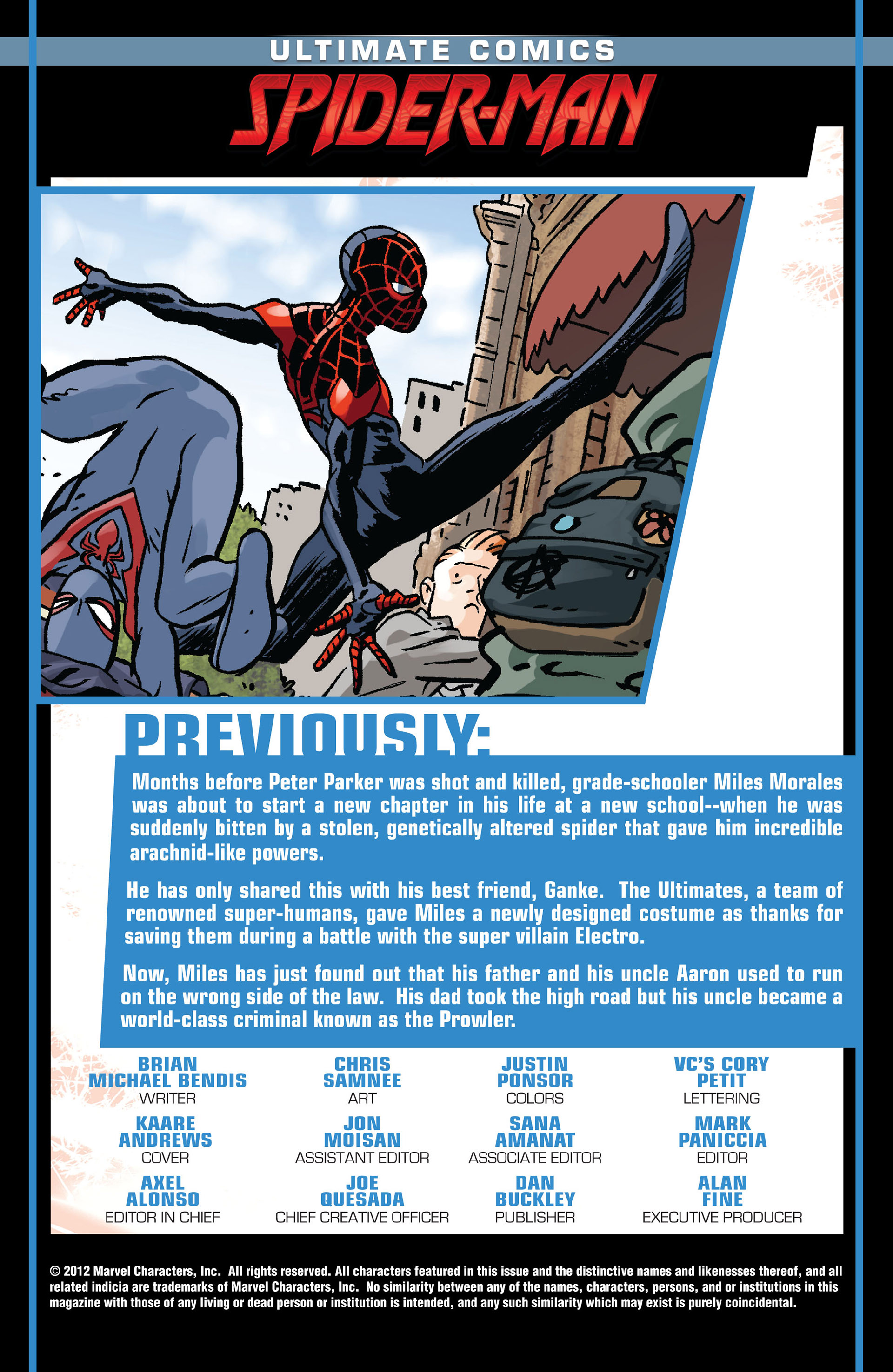 Read online Ultimate Comics Spider-Man (2011) comic -  Issue #7 - 2