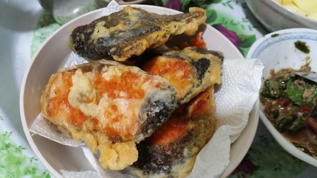 Salmon Goreng Deep Fried Syafierayamin Com
