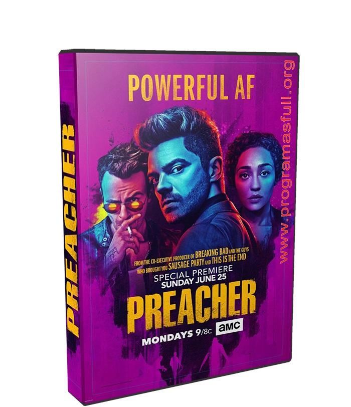 preacher poster box cover