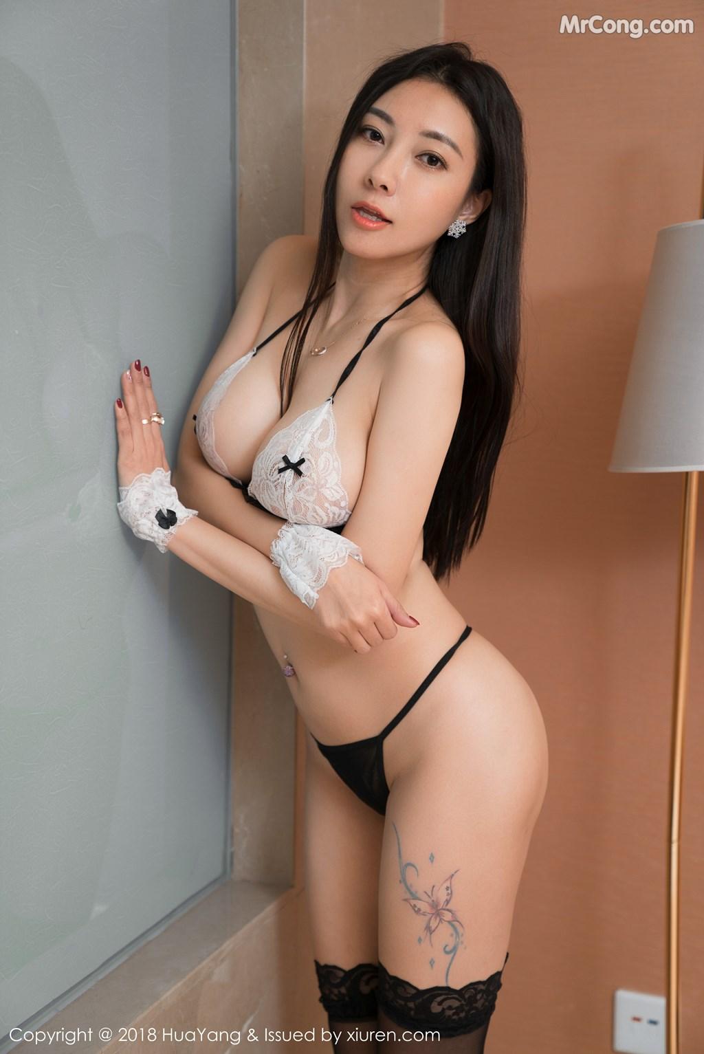 Image HuaYang-2018-01-26-Vol.028-Victoria-Guo-Er-MrCong.com-004 in post HuaYang 2018-01-26 Vol.028: Người mẫu Victoria (果儿) (41 ảnh)
