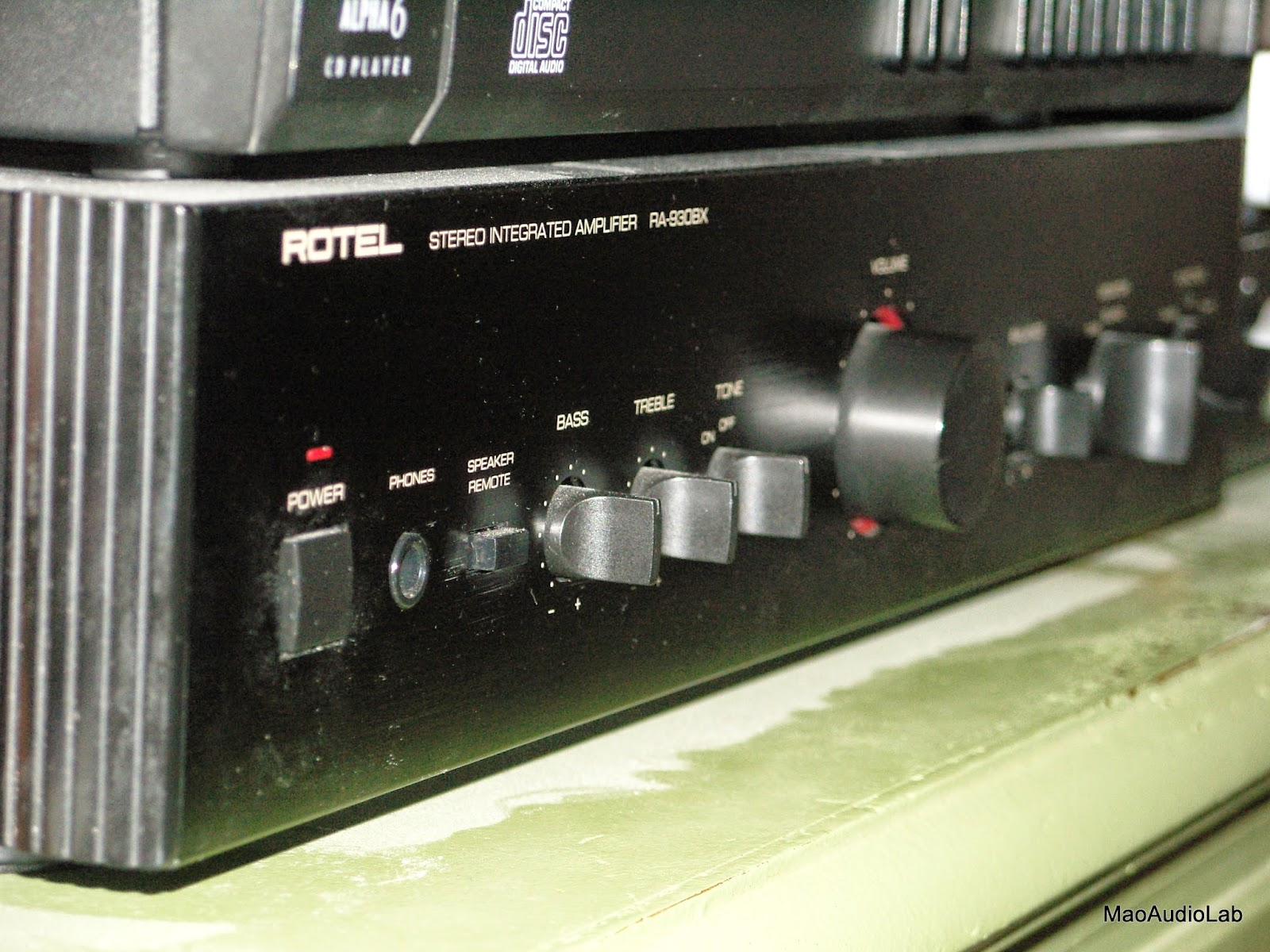 Mao Audiophile Modifications: Rotel RA-930BX vs TPA3116