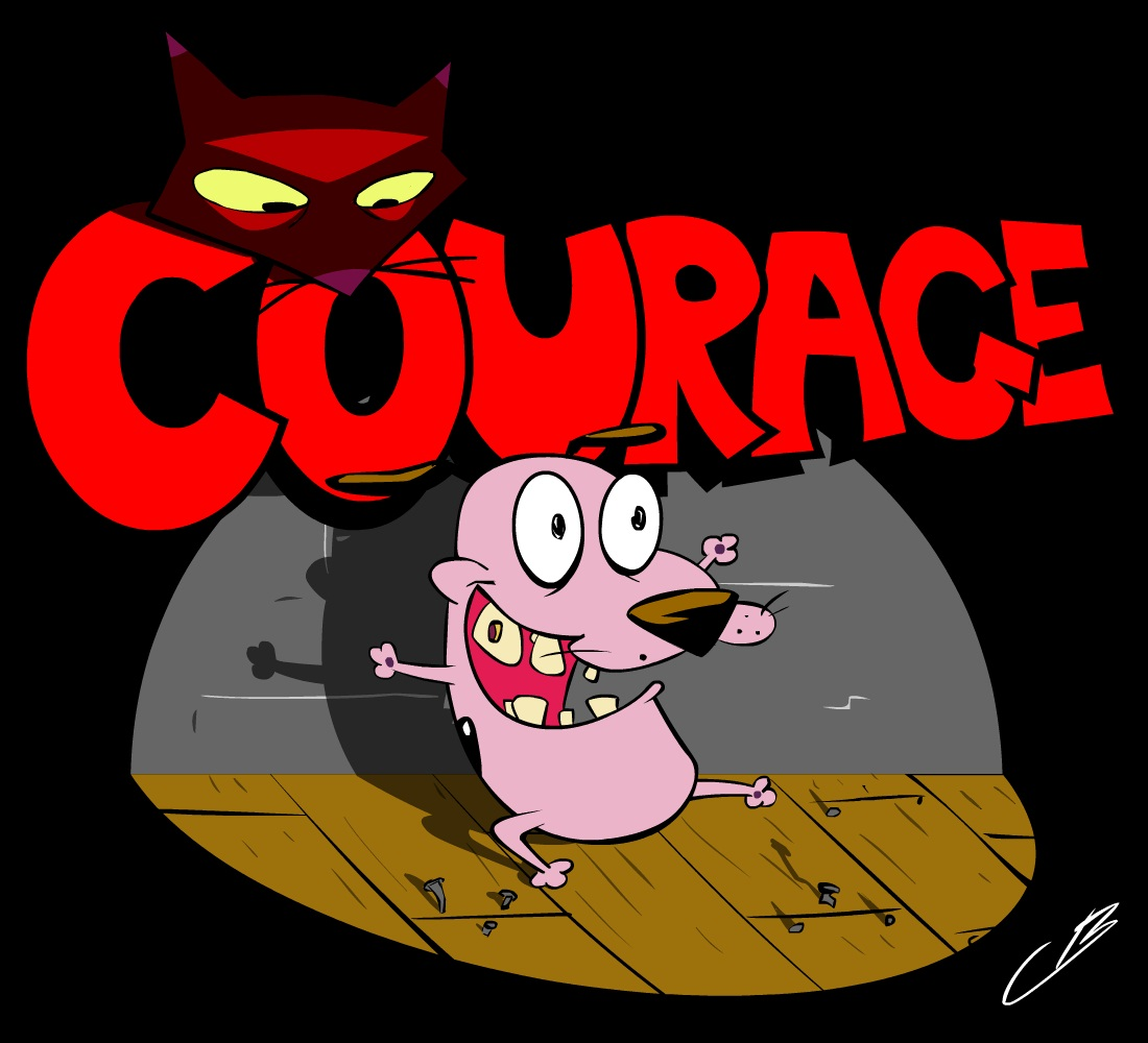 Disney HD Wallpapers: Courage The Cowardly Dog HD Wallpapers