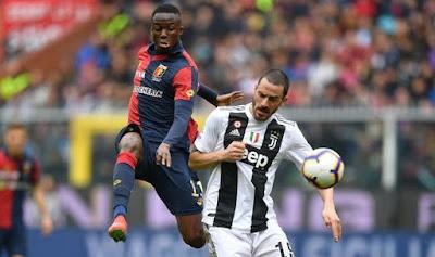 «Ювентус» потерпел первое поражение в Серии А, уступив «Дженоа» на выезде