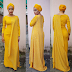 Actress Adunni Ade stuns in lovely yellow dress Fashion.