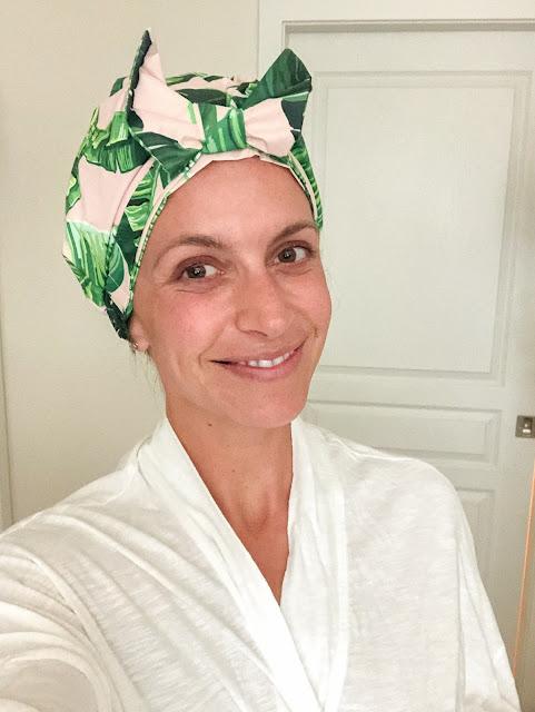 reusable shower cap