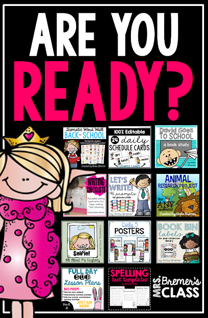 Are you ready for back to school? Follow the link to get your K-2 classroom decor, literacy activities, math centers, writing activities, and more!