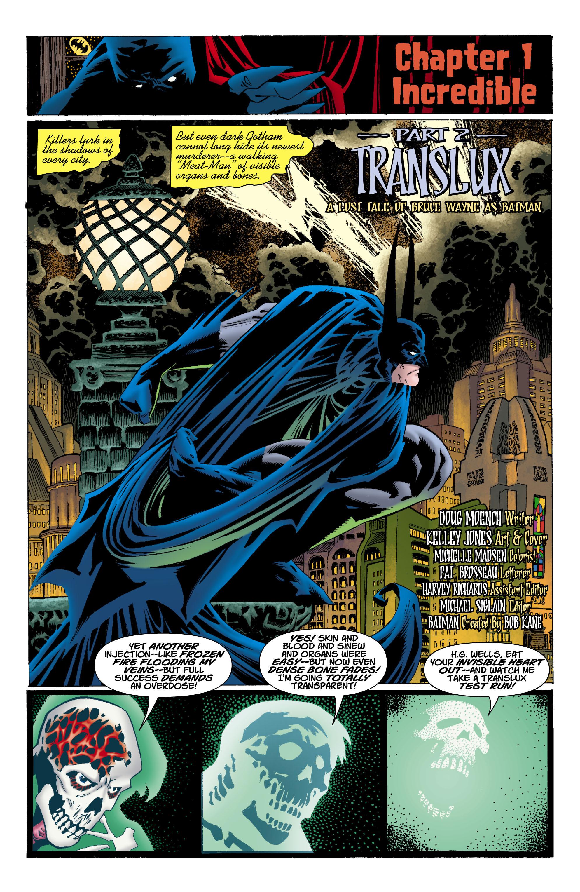 Read online Batman: Unseen comic -  Issue #2 - 2