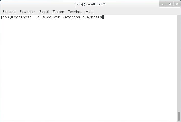 Configure Zabbix Server on CentOS 6 6 with Ansible