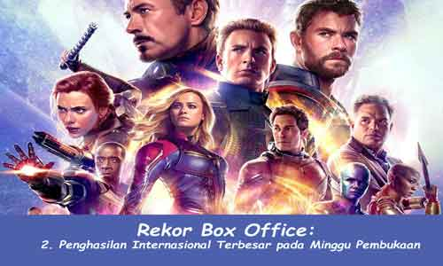 rekor box office avenger endgame