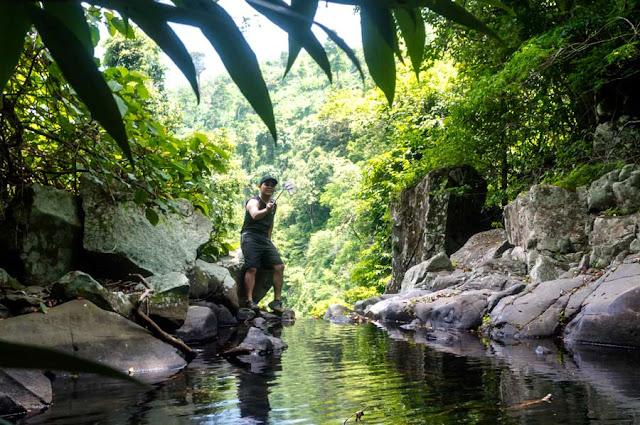 Subic Bay Waterfalls