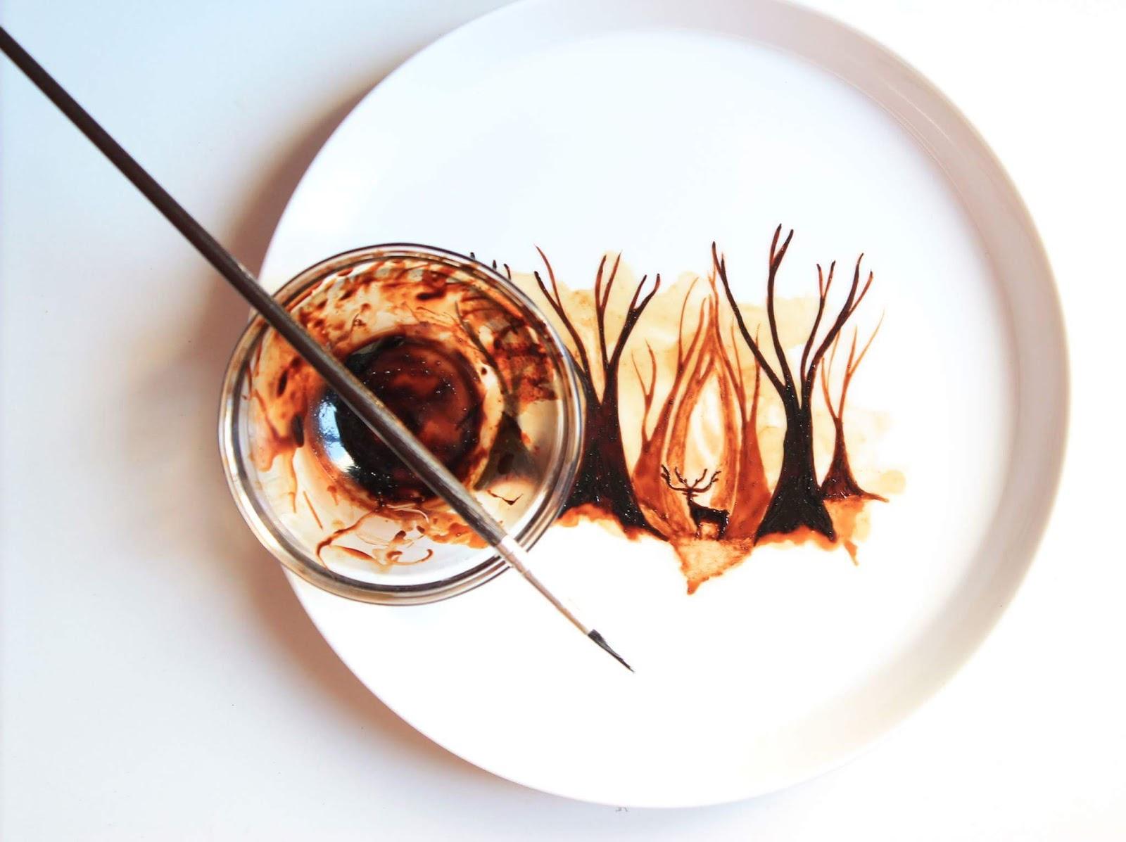 Citaten Kunst Yang Bagus : Seni melukis dari ampas kopi wedangan id