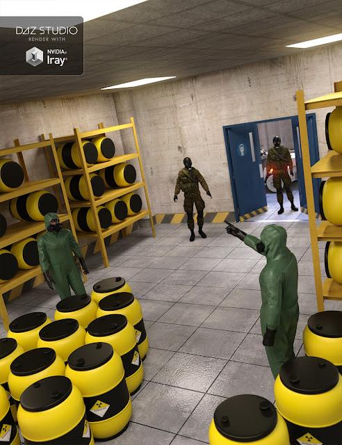 Radioactive Storage Room