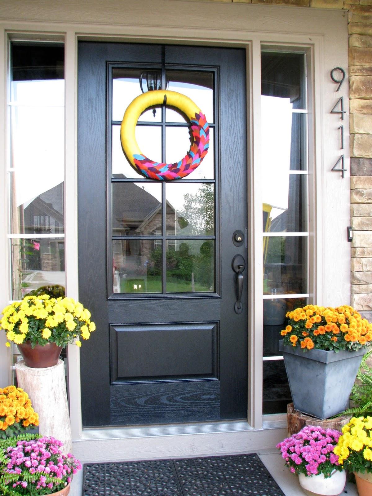 Life Love Larson: New Glass Panel Front Door