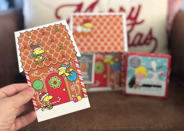 Hallmark Canada Peanuts Woodstock Greeting Cards Linus and Snoopy Gift Card Holder #LoveHallmarkCA