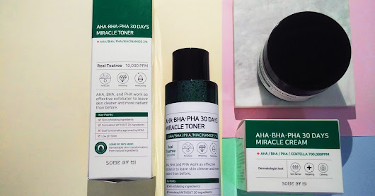 SOME BY MI: AHA-BHA-PHA 30 Days Miracle Toner & Miracle Cream
