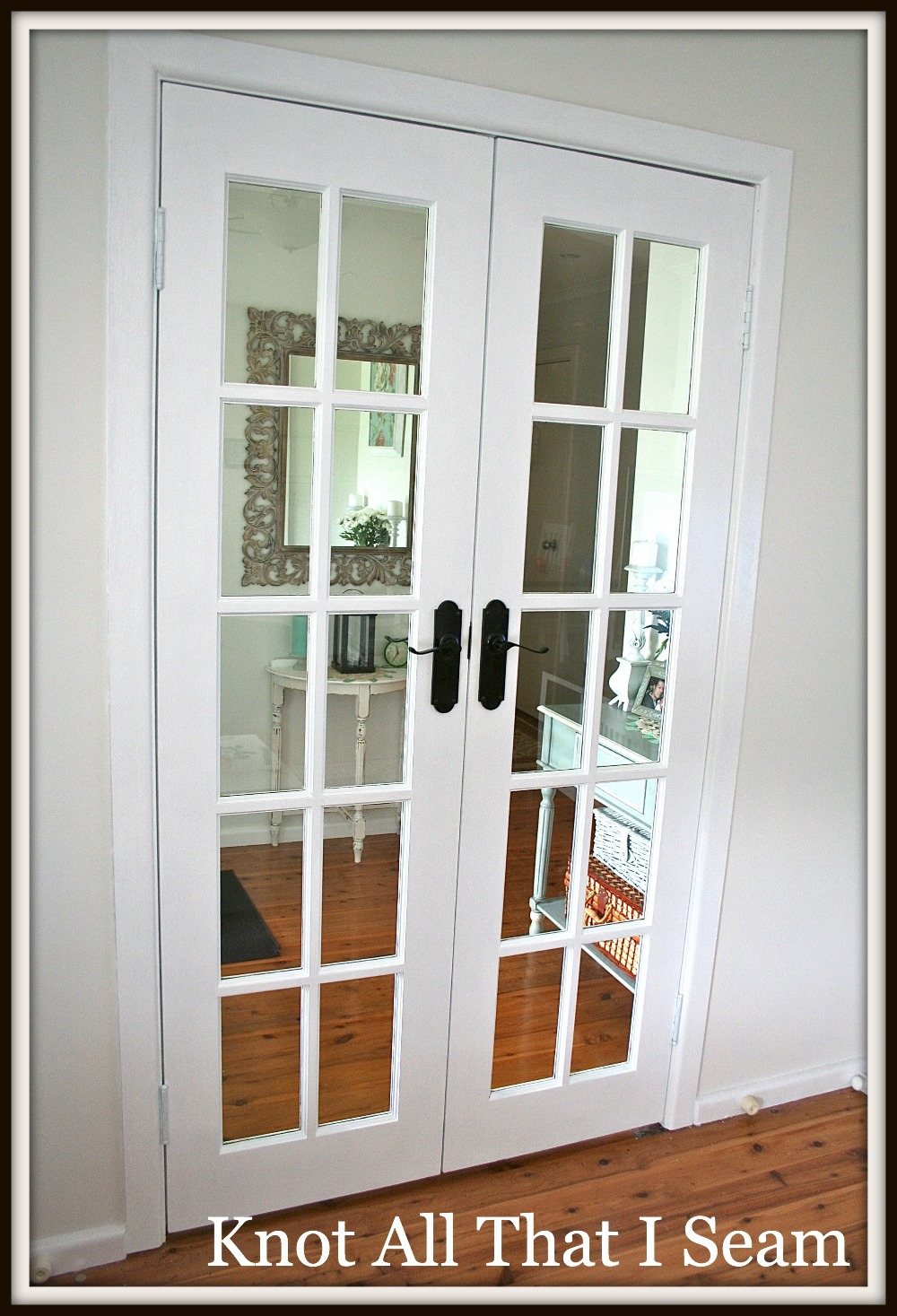 Restyle Relove White Internal French Door Makeover