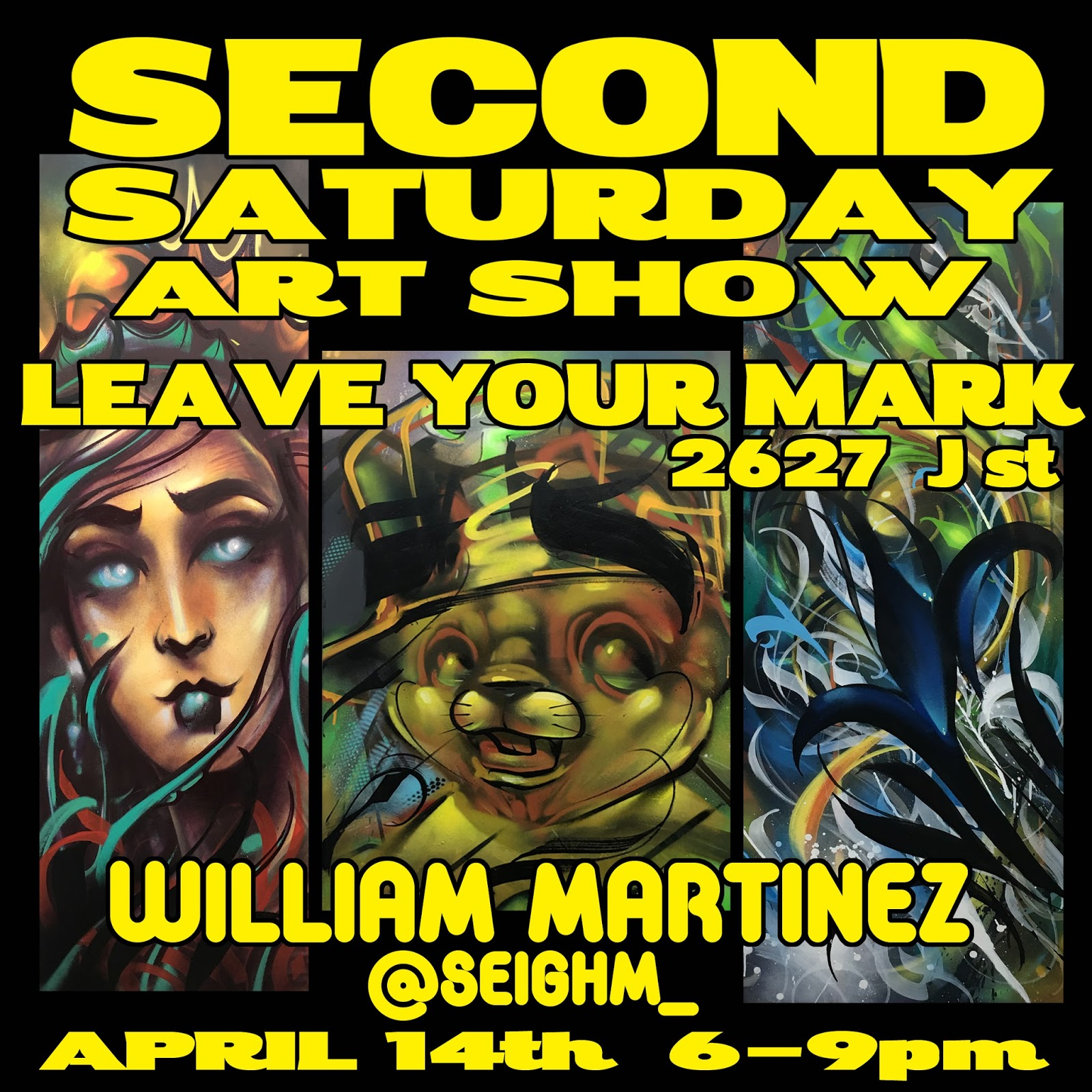 2nd Saturday Poets 2: Leave Your Mark Sacramento