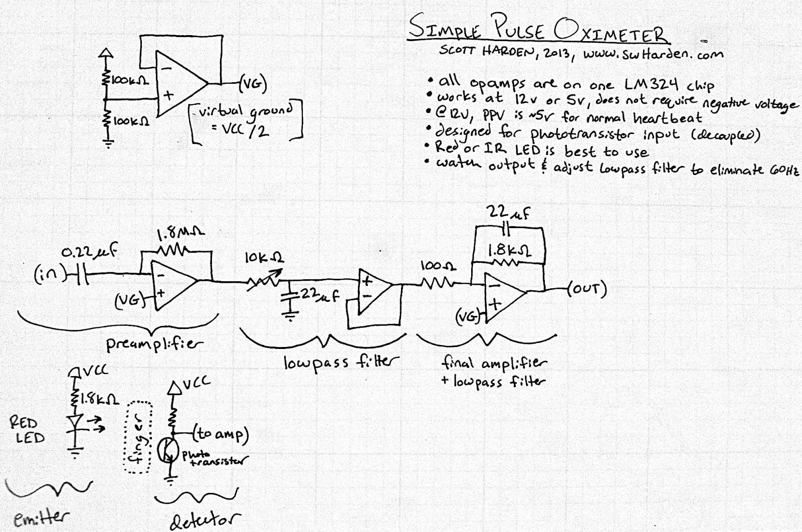 medium resolution of simple pulse oximeter circuit diagram electronic circuits diagram simple pulse oximeter circuit diagram