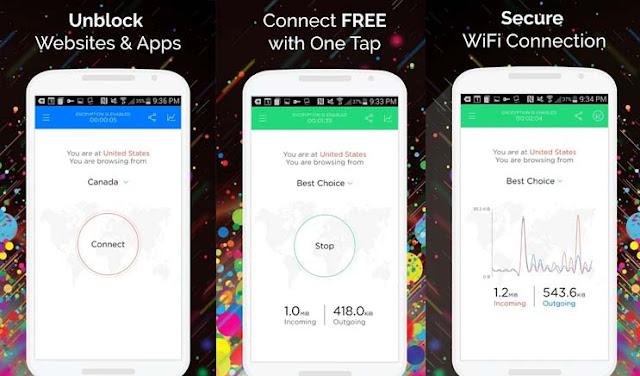 Aplikasi VPN Terbaik Gratis - Touch VPN