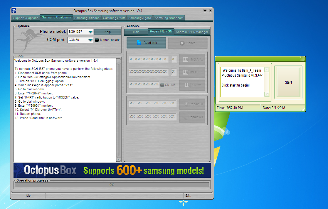 Gsm_X_Team: Octopus Samsung 1 9 4 Cracked