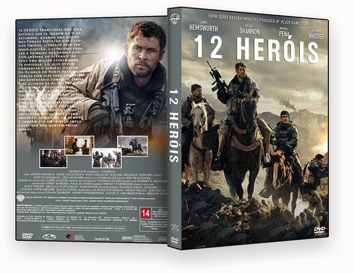 DVD-R 12 HEROIS – AUTORADO