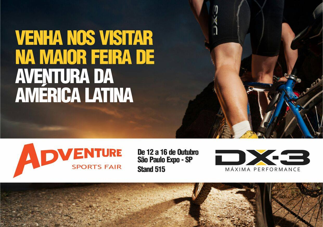 fe9d223214 DX3 - MÁXIMA PERFORMANCE  Adventure Sports Fair 2016