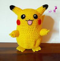 amigurumi pikachu