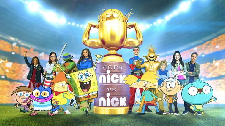 NickALive!: Nickelodeon Brazil Announces 'Copa Nick Vs Nick