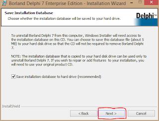 Cara Install Delphi 7 di Windows 8 9