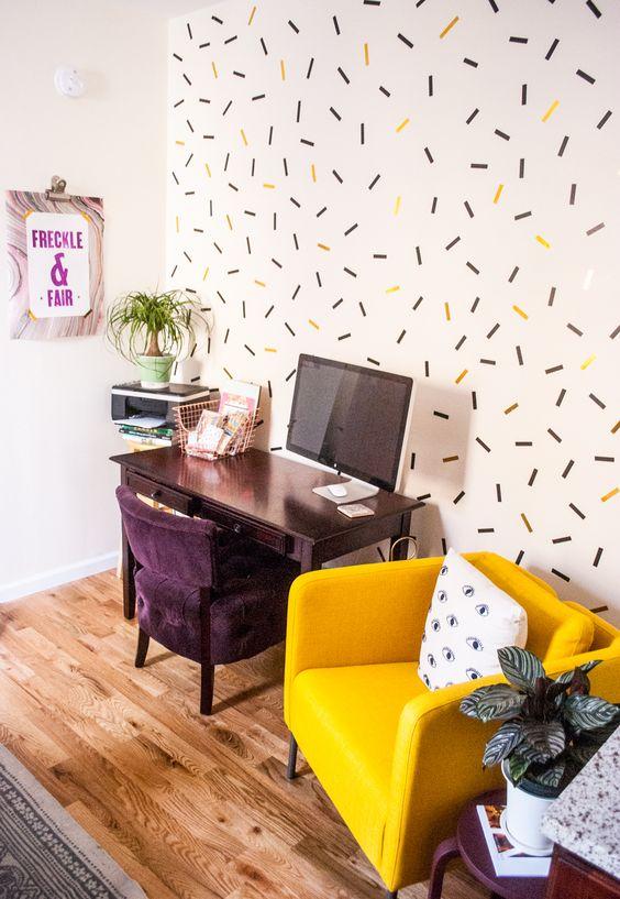 Washi tape, ideal para decorar las paredes de tu hogar