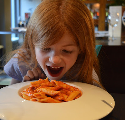 Family Dining at Fratello's, Jesmond - A review - Kids Pasta