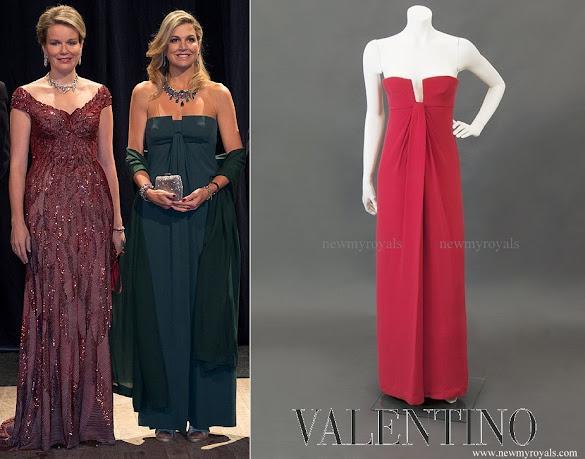 Queen Maxima wore Valentino Garavani Gown