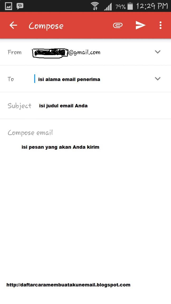 Bagaimana Cara Mengirim Email Di Gmail Lewat Hp Android Daftar Cara Membuat Akun