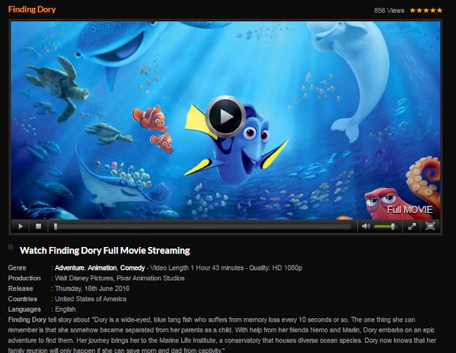 Finding Dory Full Movie Starmovie Tv